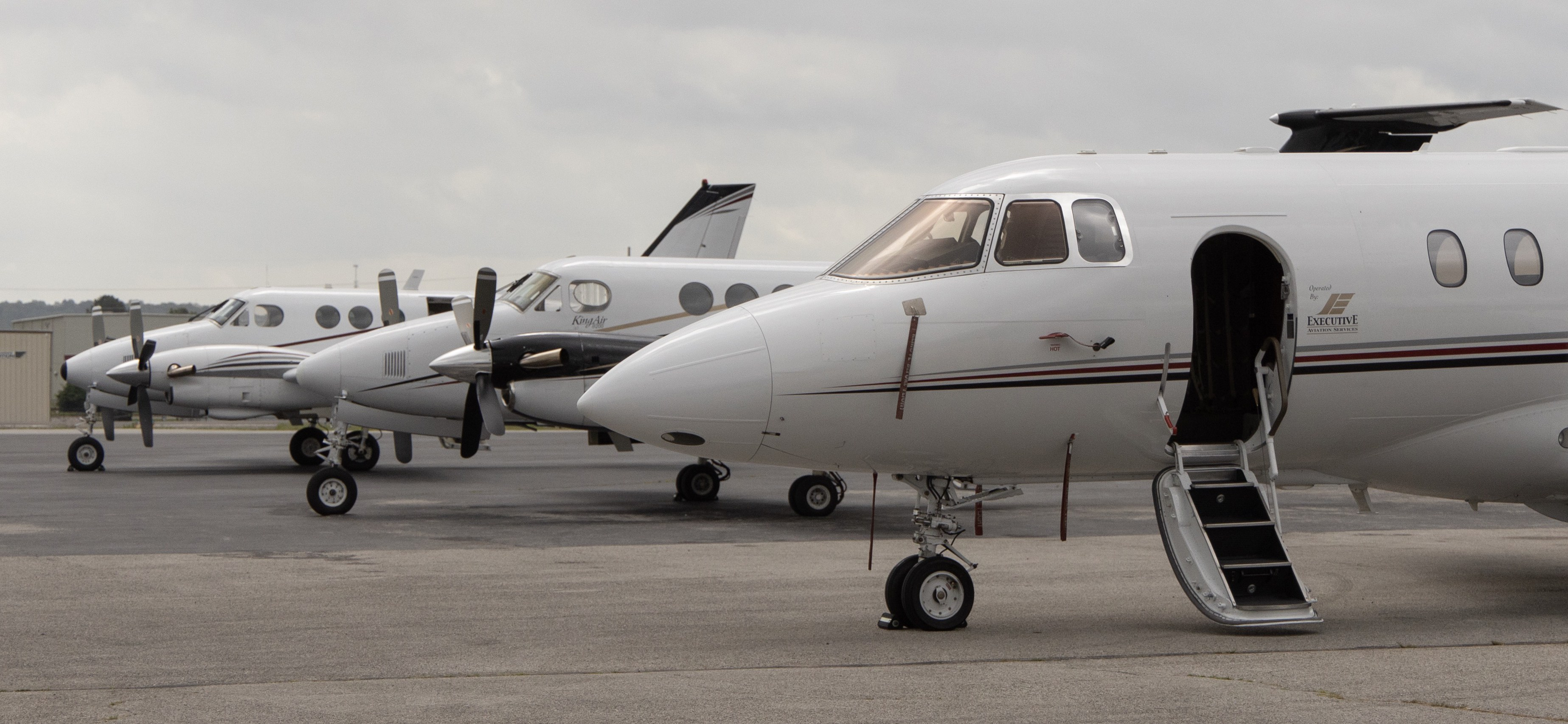 Executive Aviation Services — Charter Flights from Northwest
